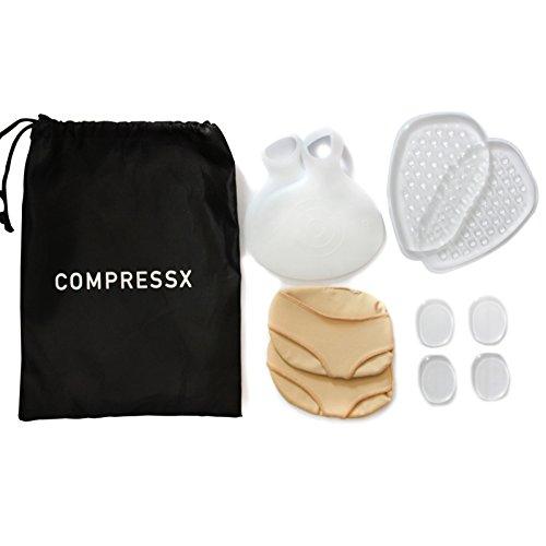 PIXNOR completa bola de pie amortiguadores Kit 3 par alivio del dolor inmediato pata delantera cojines zapato inserta Neumeria cojines